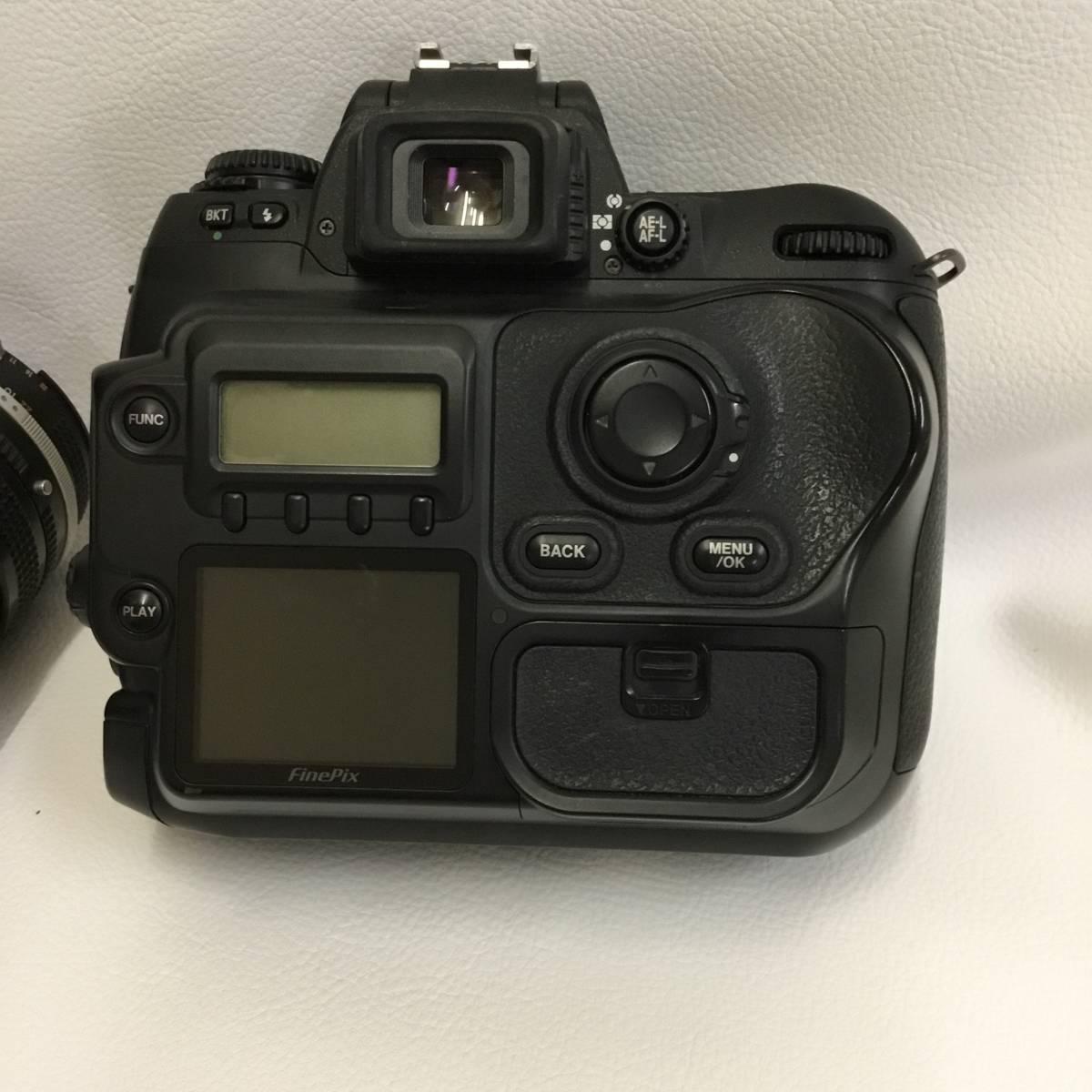 フジフィルム FUJIFILM Fine Pix S3Pro Zoom-NIKKOR 28-85mm ジャンク品_画像4