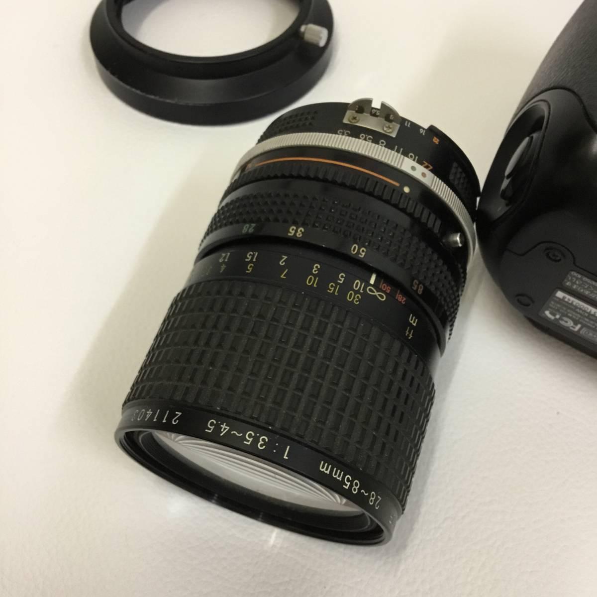 フジフィルム FUJIFILM Fine Pix S3Pro Zoom-NIKKOR 28-85mm ジャンク品_画像7