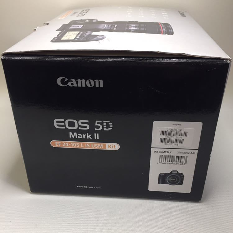 ★CANON EOS5D markⅡ EF24-105 L IS USM kit ジャンク品★_画像10