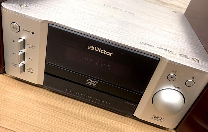 ■Victor EX-A3 DVDコンポ ウッドコーン ビクター■_画像5