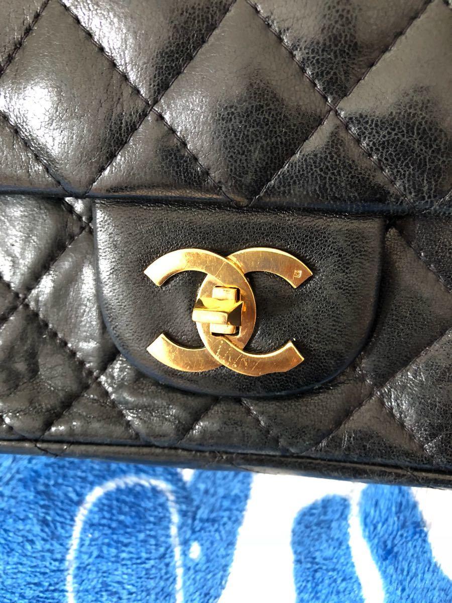 正規品 CHANELシャネル100円から...バッグです。_画像7