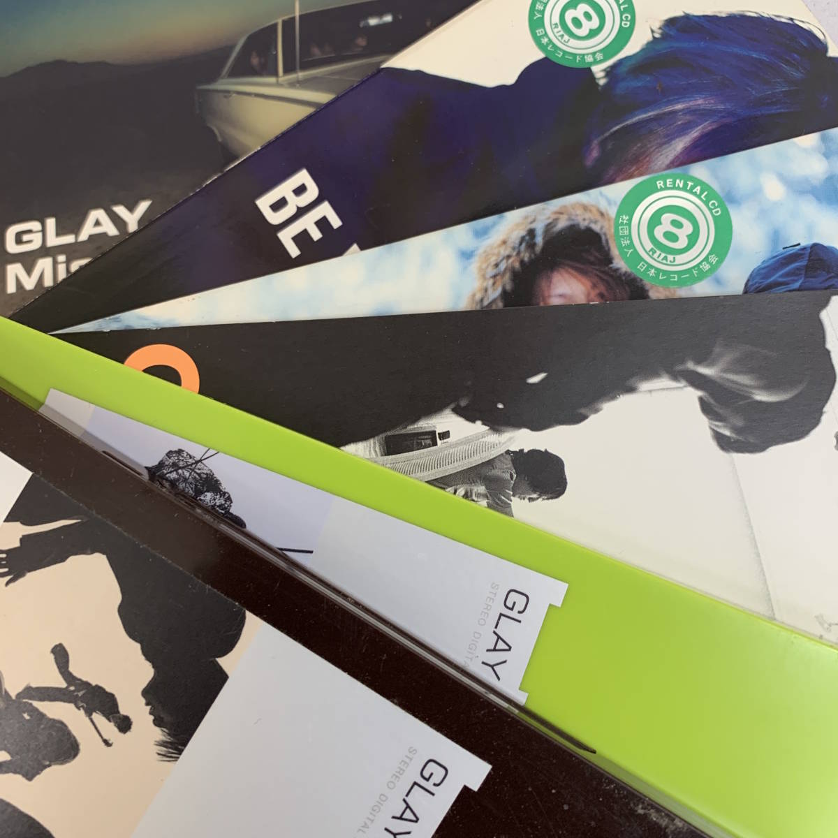 GLAY 口唇、REVIEW、Missing You、Soul Love、誘惑、a Boy、Winter,again、Be with You、However、9枚まとめて_画像4