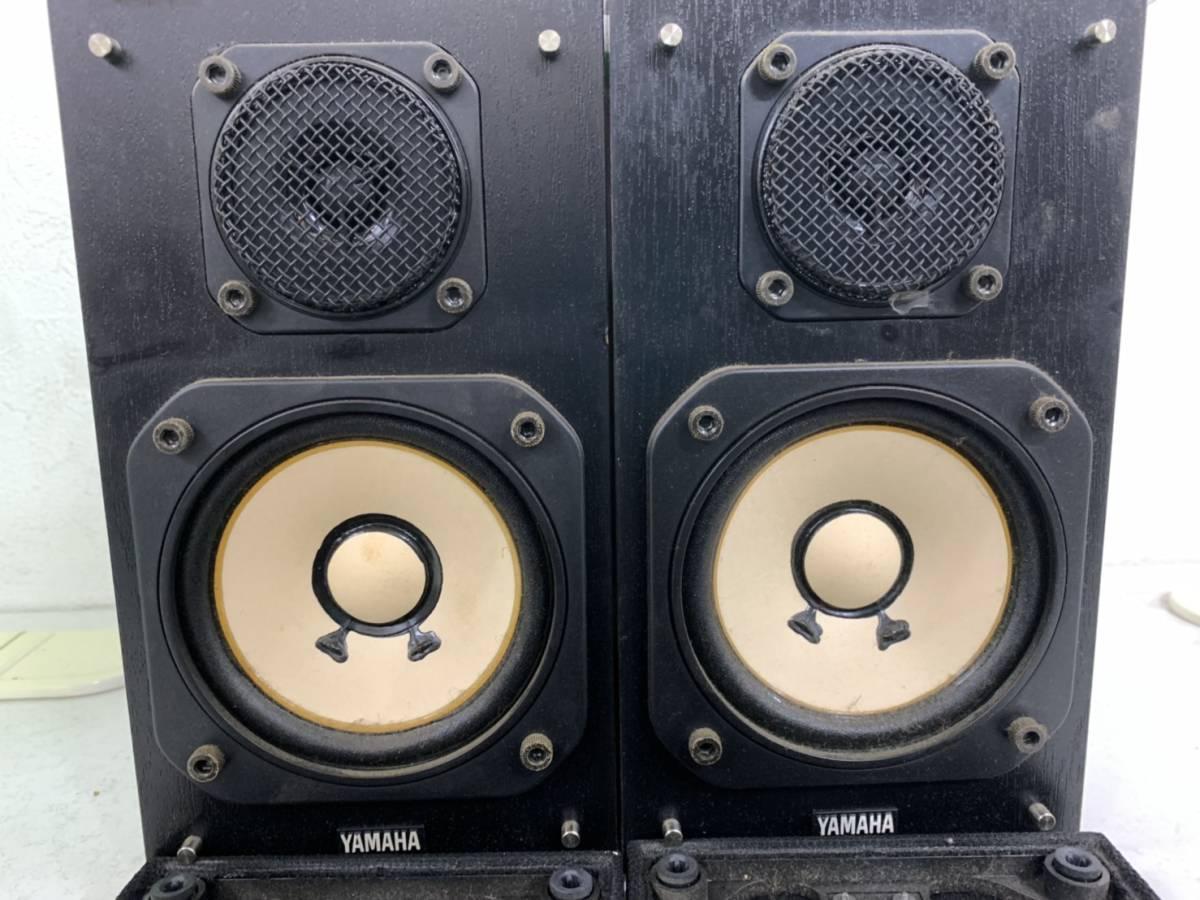 K-1128⑤: YAMAHA/ヤマハ/NS-10MM/スピーカー/コンパクト/音響機器/現状品_画像9