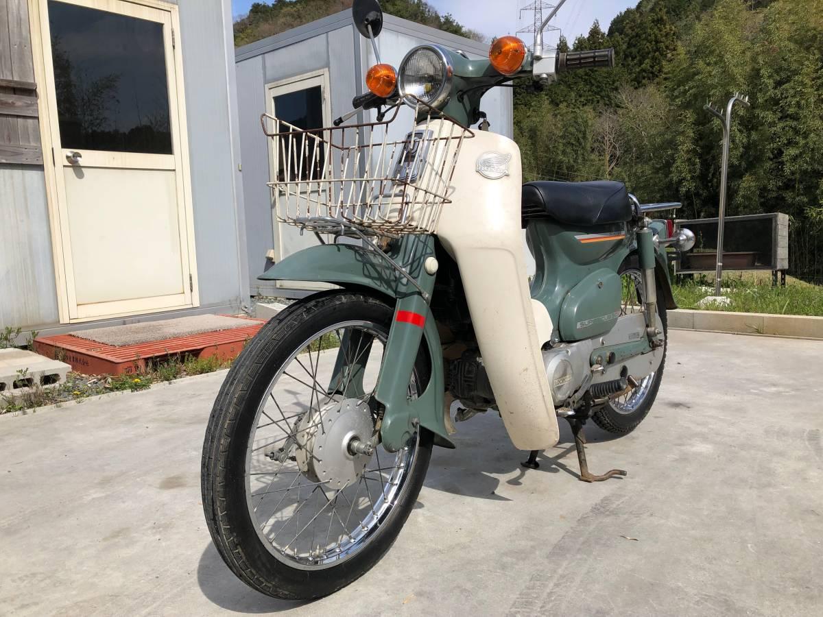 スーパーカブ Honda Super CUB キャブ '82 4.7PSエンジン 大阪発_画像1