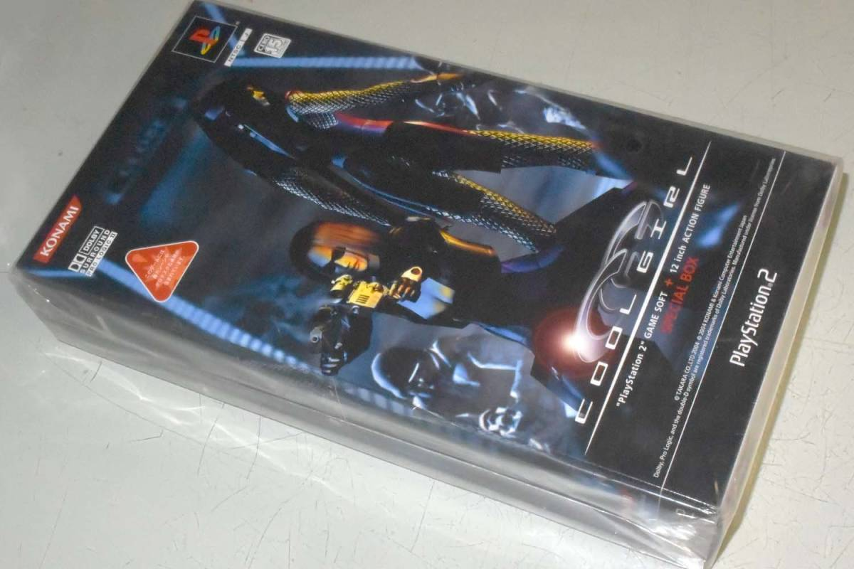PS2ゲームソフト同梱 アイス限定版フィギュア_お譲りするのは未開封新品です。