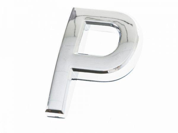 5cm 英字 アルファベット エンブレム ステッカー シール シルバー#P QZA-42915_画像1
