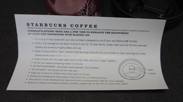 ※未使用品※ 海外製 スターバックス タンブラー Starbucks Coffee _画像5