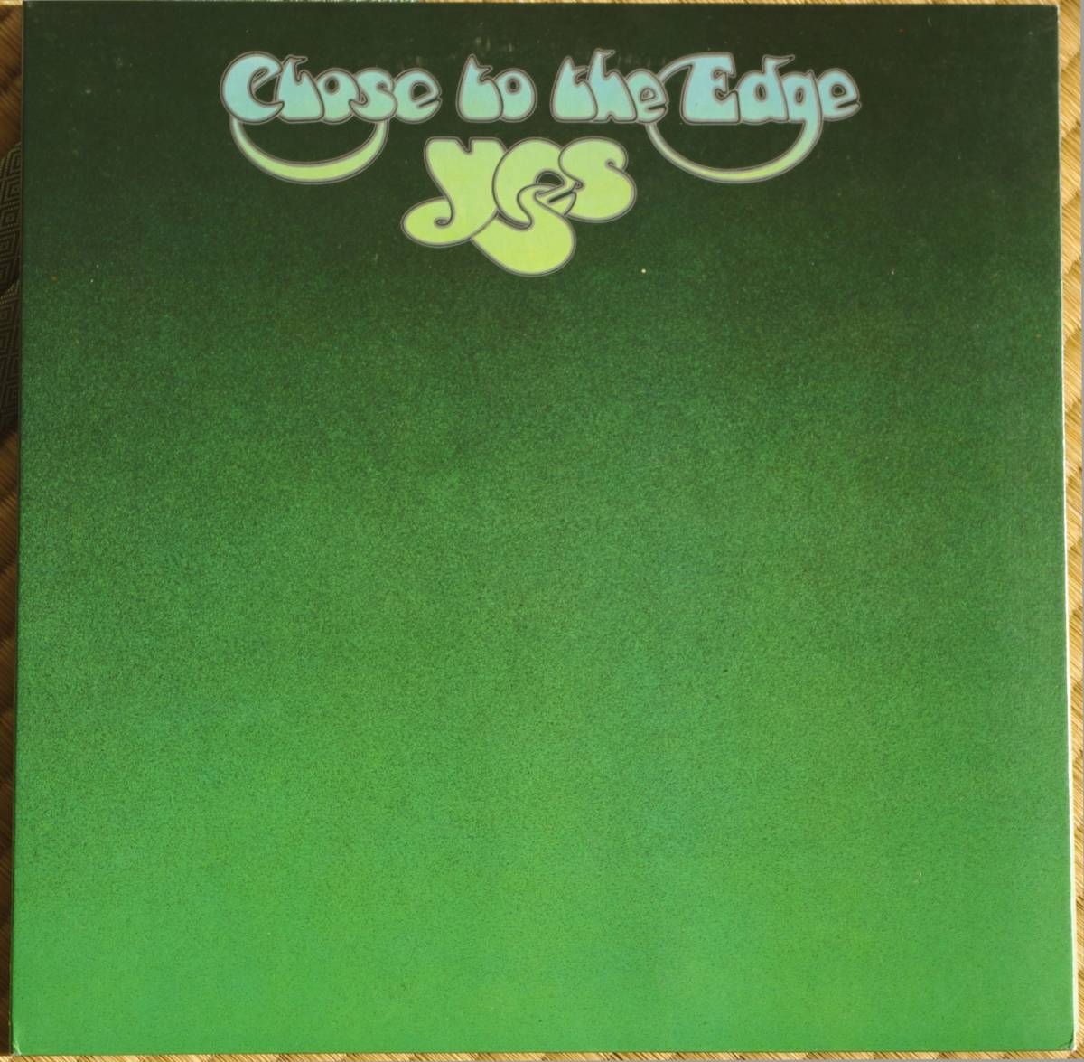 【LP】 YES / CLOSE TO THE EDGE  国内盤