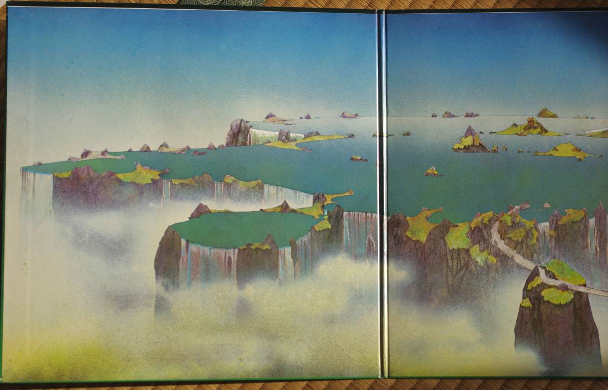 【LP】 YES / CLOSE TO THE EDGE  国内盤_画像2