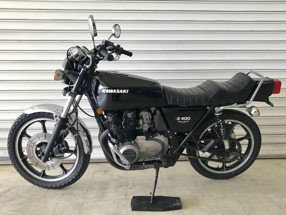 KAWASAKI Z400FX 貴重な初期型国内E1モデル 実働旧車/程度良好/エンジン載せ替え無し_画像2