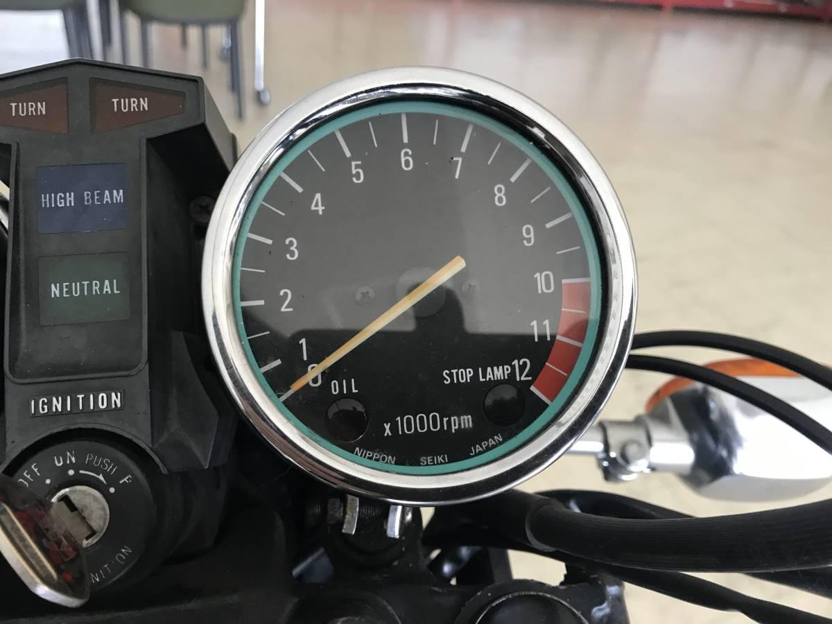 KAWASAKI Z400FX 貴重な初期型国内E1モデル 実働旧車/程度良好/エンジン載せ替え無し_画像5