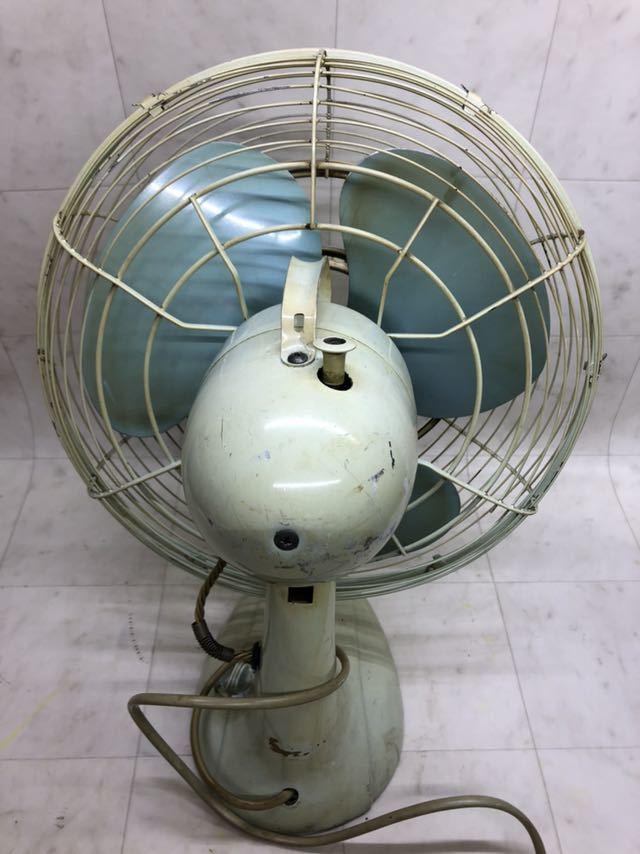 昭和レトロ 美品 DAIMARU 大丸謹製 SILVER ヴィンテージ 扇風機 12インチ 3枚羽 _画像3
