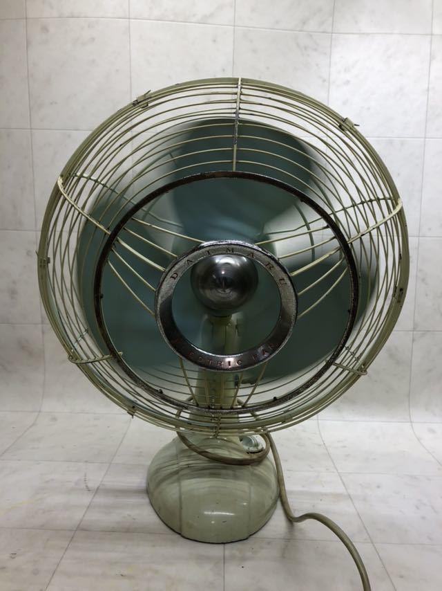 昭和レトロ 美品 DAIMARU 大丸謹製 SILVER ヴィンテージ 扇風機 12インチ 3枚羽