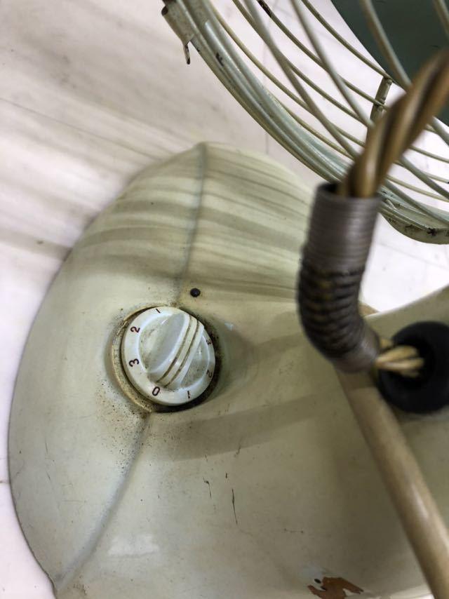 昭和レトロ 美品 DAIMARU 大丸謹製 SILVER ヴィンテージ 扇風機 12インチ 3枚羽 _画像4