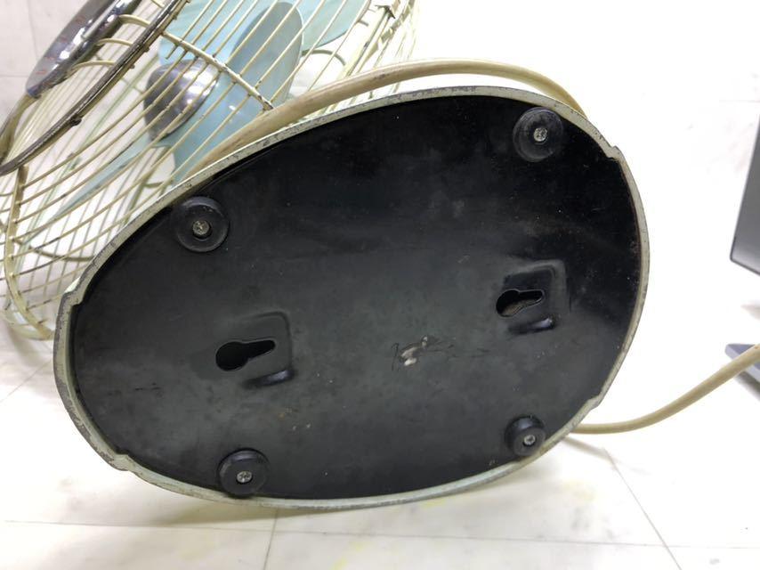 昭和レトロ 美品 DAIMARU 大丸謹製 SILVER ヴィンテージ 扇風機 12インチ 3枚羽 _画像5