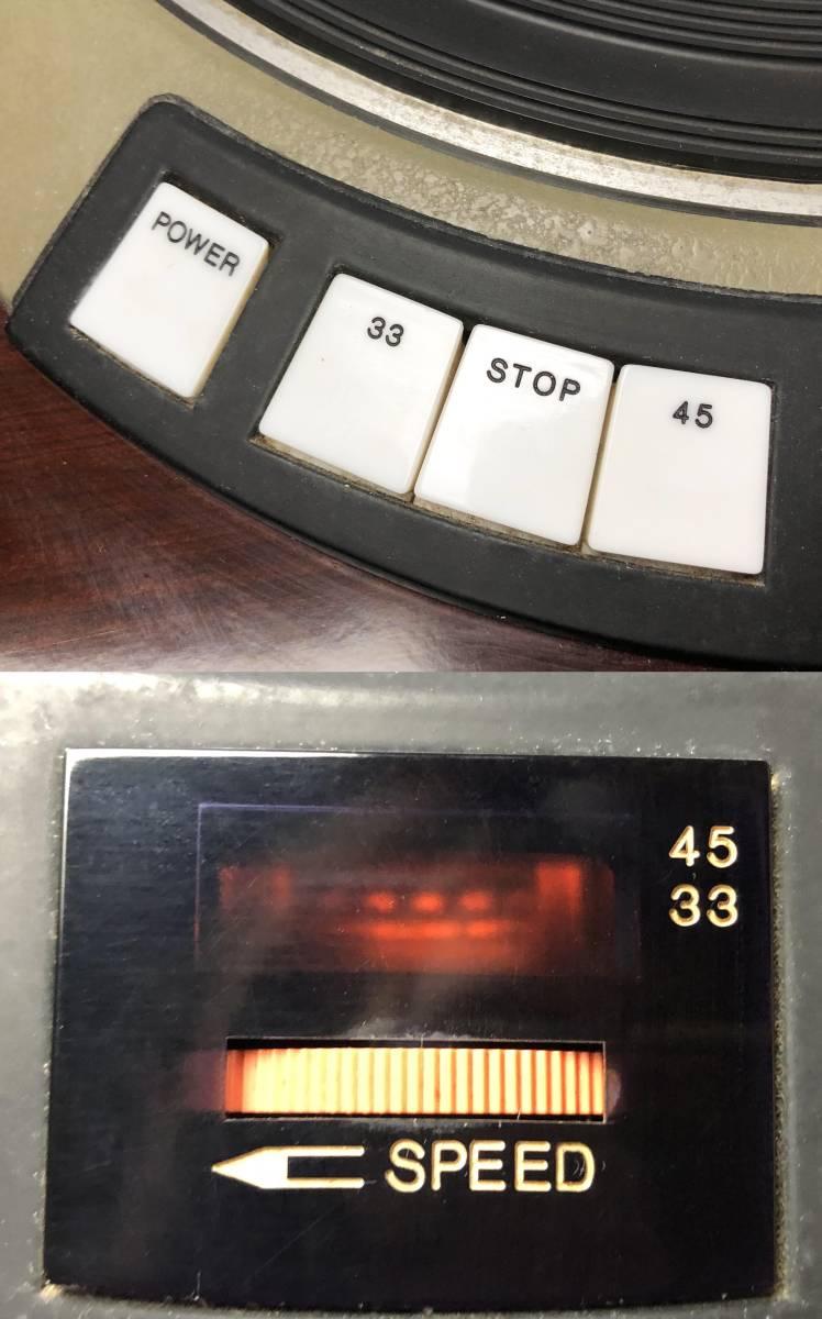 DENON / デノン DP-5000 DK-110 DA-309 ターンテーブル レコードプレーヤー_画像4