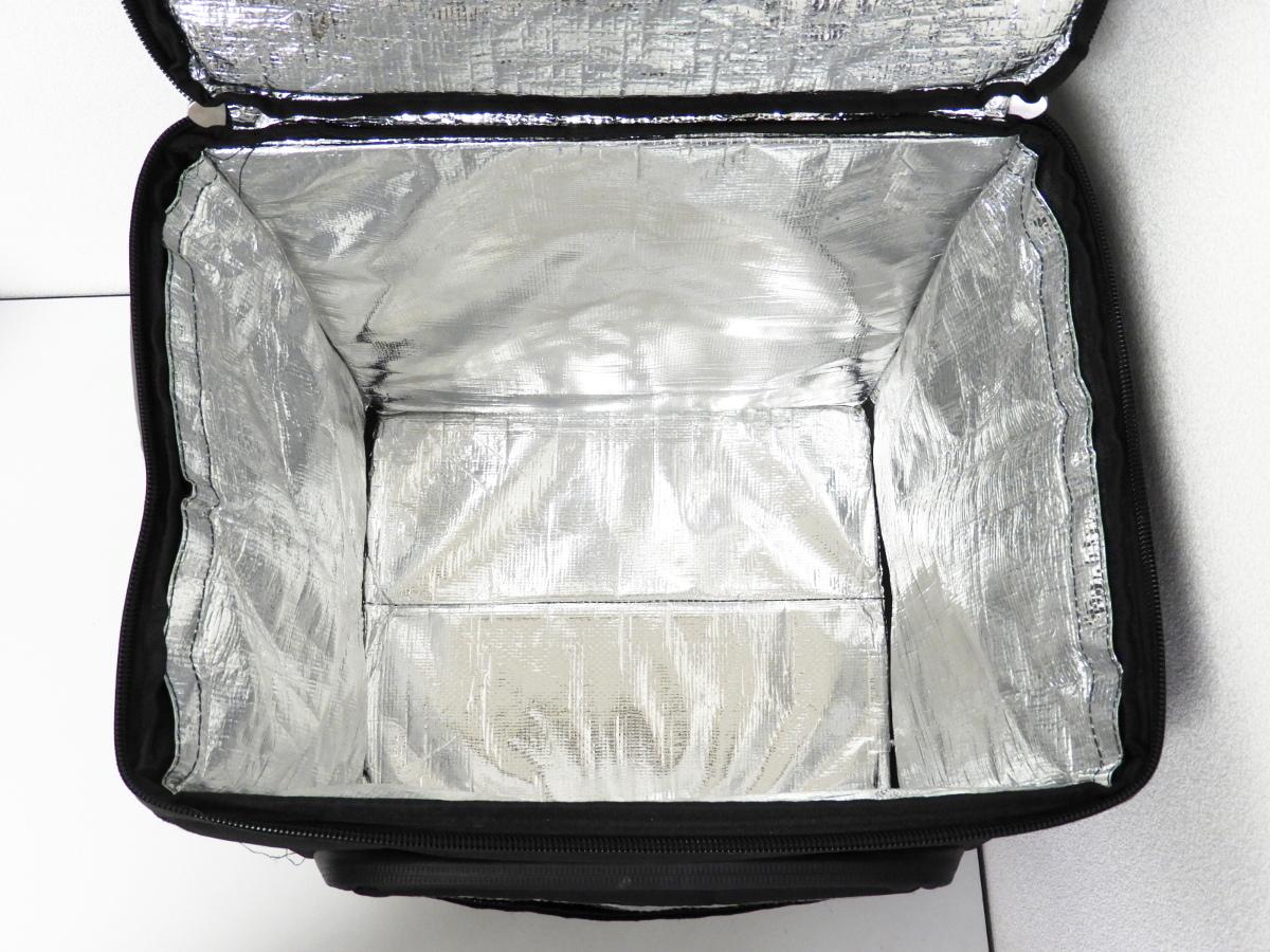 UBER EATS ウーバーイーツ 保冷保温 配達 デリバリーバッグ リュック 手下げ 2個セット 折りたたみ式_画像3