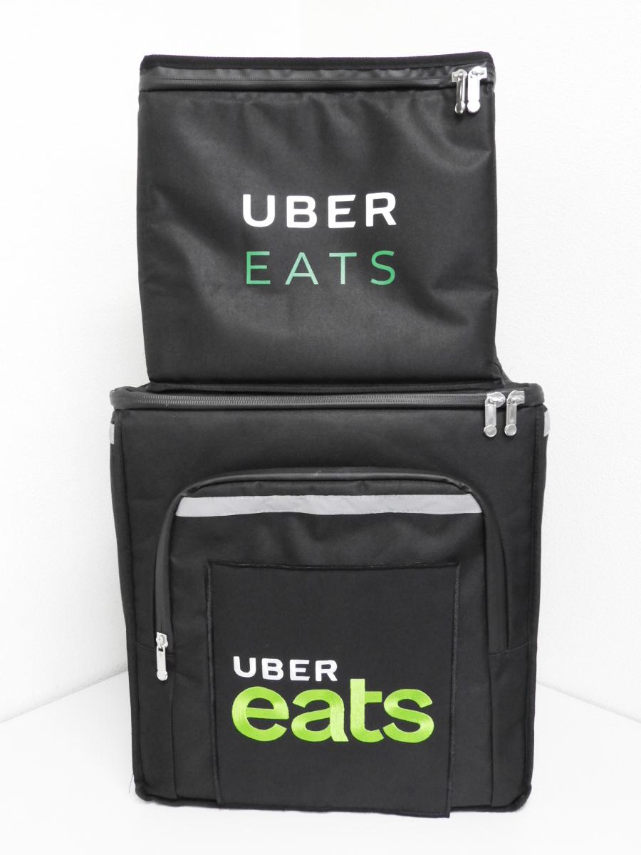 UBER EATS ウーバーイーツ 保冷保温 配達 デリバリーバッグ リュック 手下げ 2個セット 折りたたみ式
