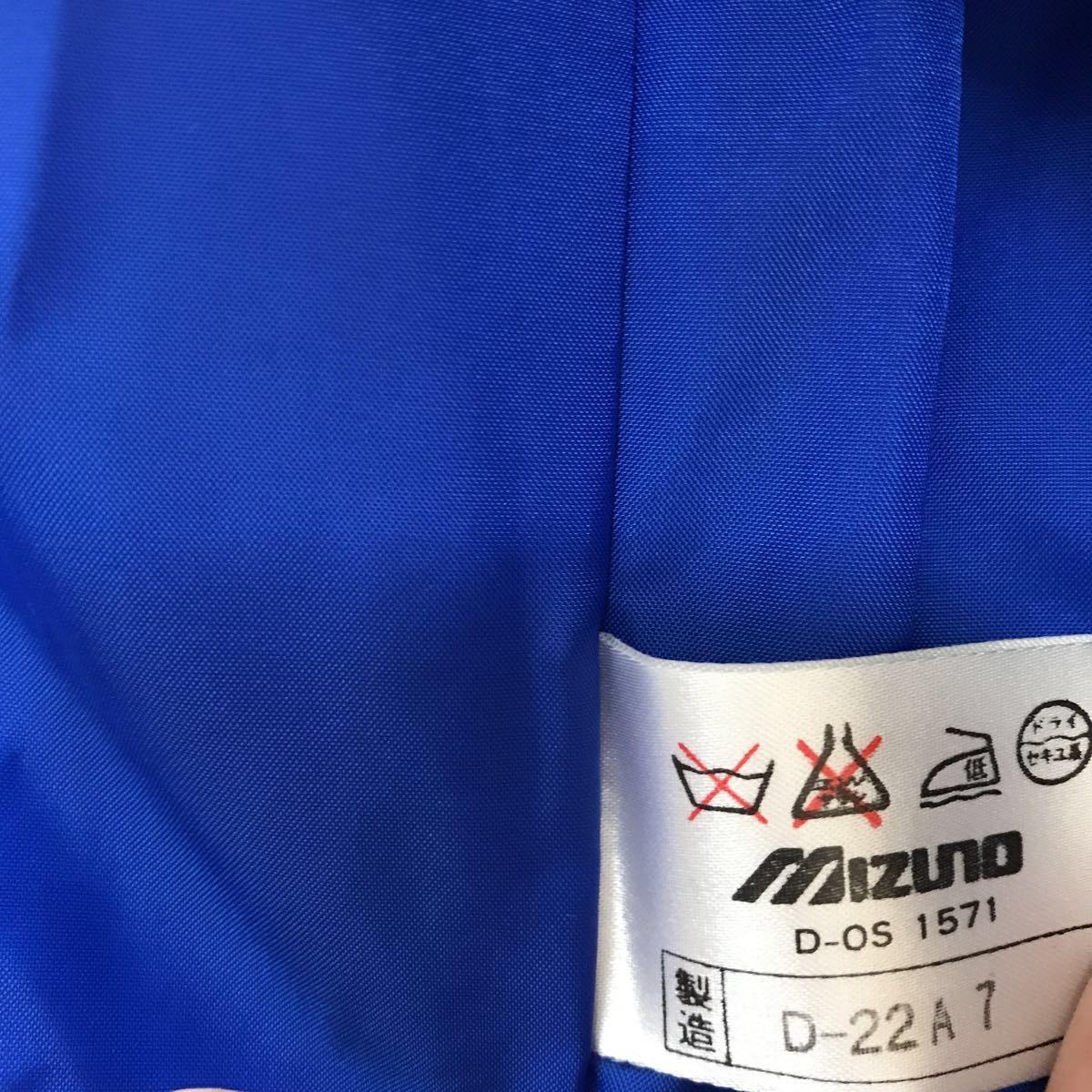 当時物 西武ライオンズ スタジャン xo ◆ スタジアムジャンパー ミズノ製 グランドコート グラウンドコート 15番 谷中_画像8