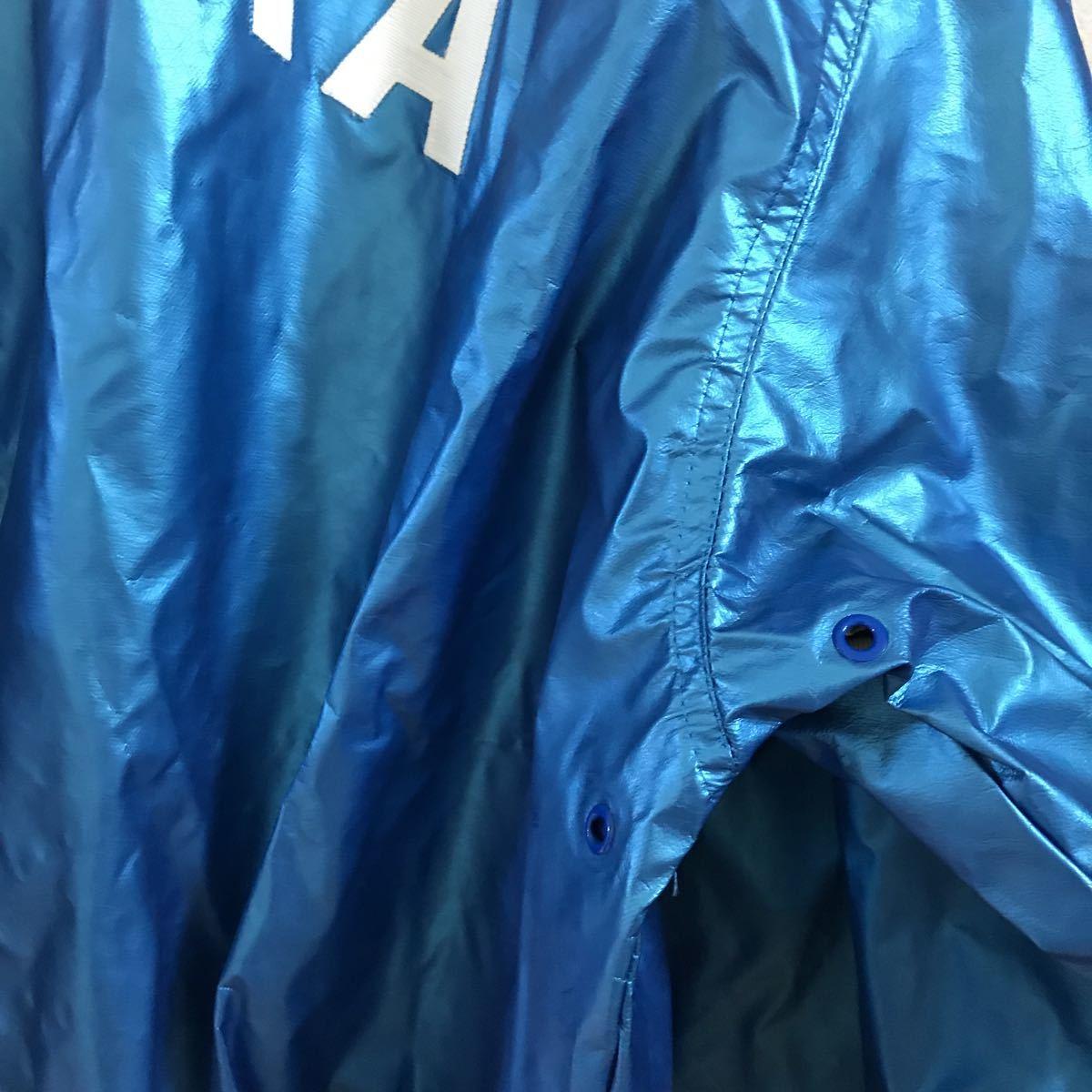 当時物 西武ライオンズ スタジャン xo ◆ スタジアムジャンパー ミズノ製 グランドコート グラウンドコート 15番 谷中_画像9