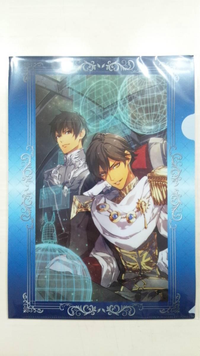 Fate/Grand Order FGOフェイト ローソンHMV限定 クリアファイルAセット3枚 新品未開封 ギルガメッシュ オジマンディアス アーラシュ ロマニ_画像2