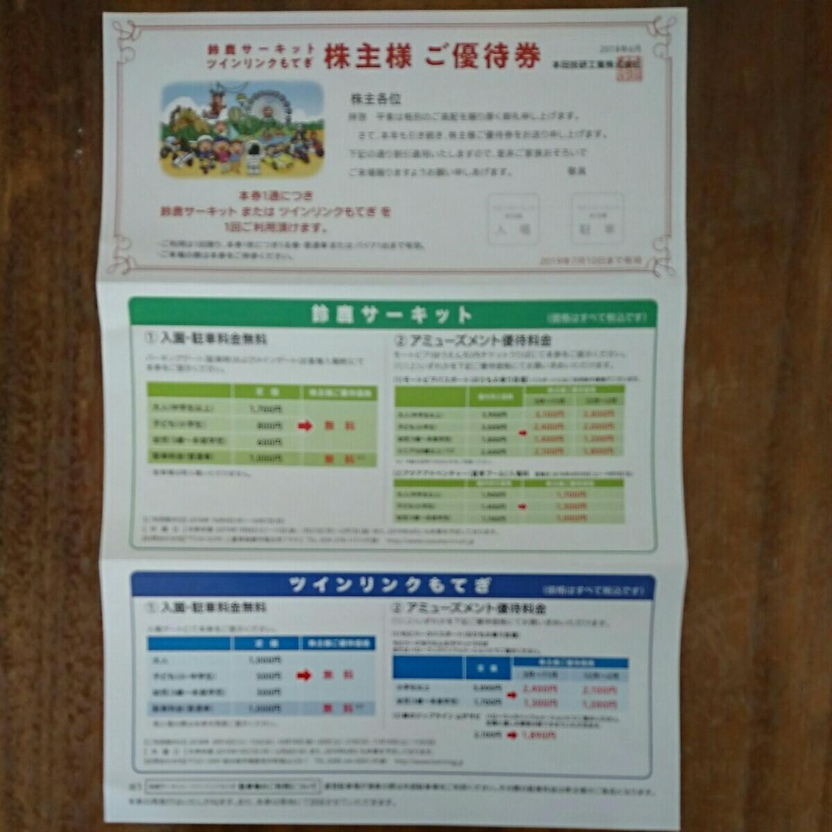 送料無料【鈴鹿サーキット/ツインリンクもてぎ】入園料金5名まで+駐車場無料