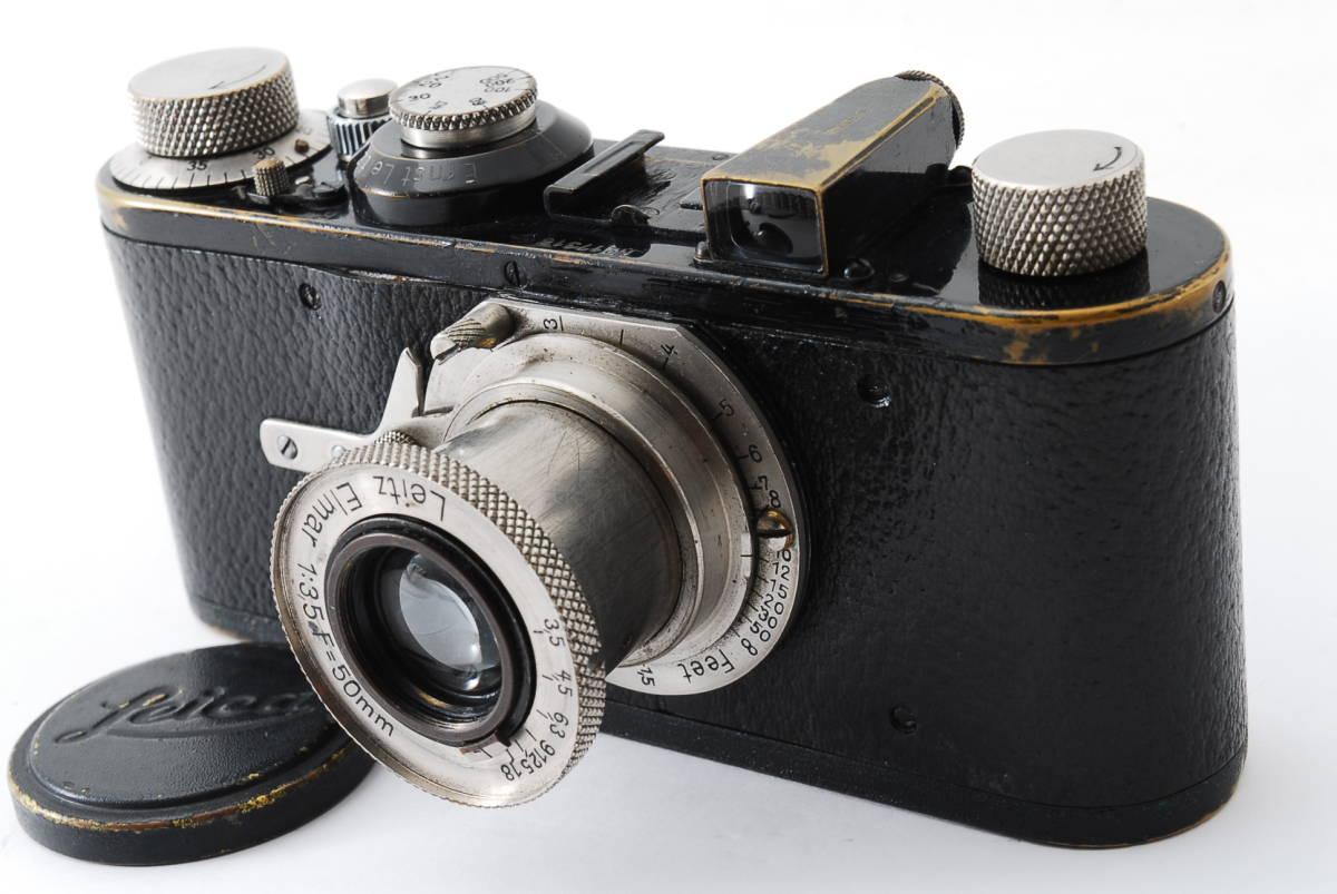 ☆極上☆ LEICA A型 I型 Elmar 50mm F3.5 バルナック ライカ エルマー 17000番台 後期型 #697