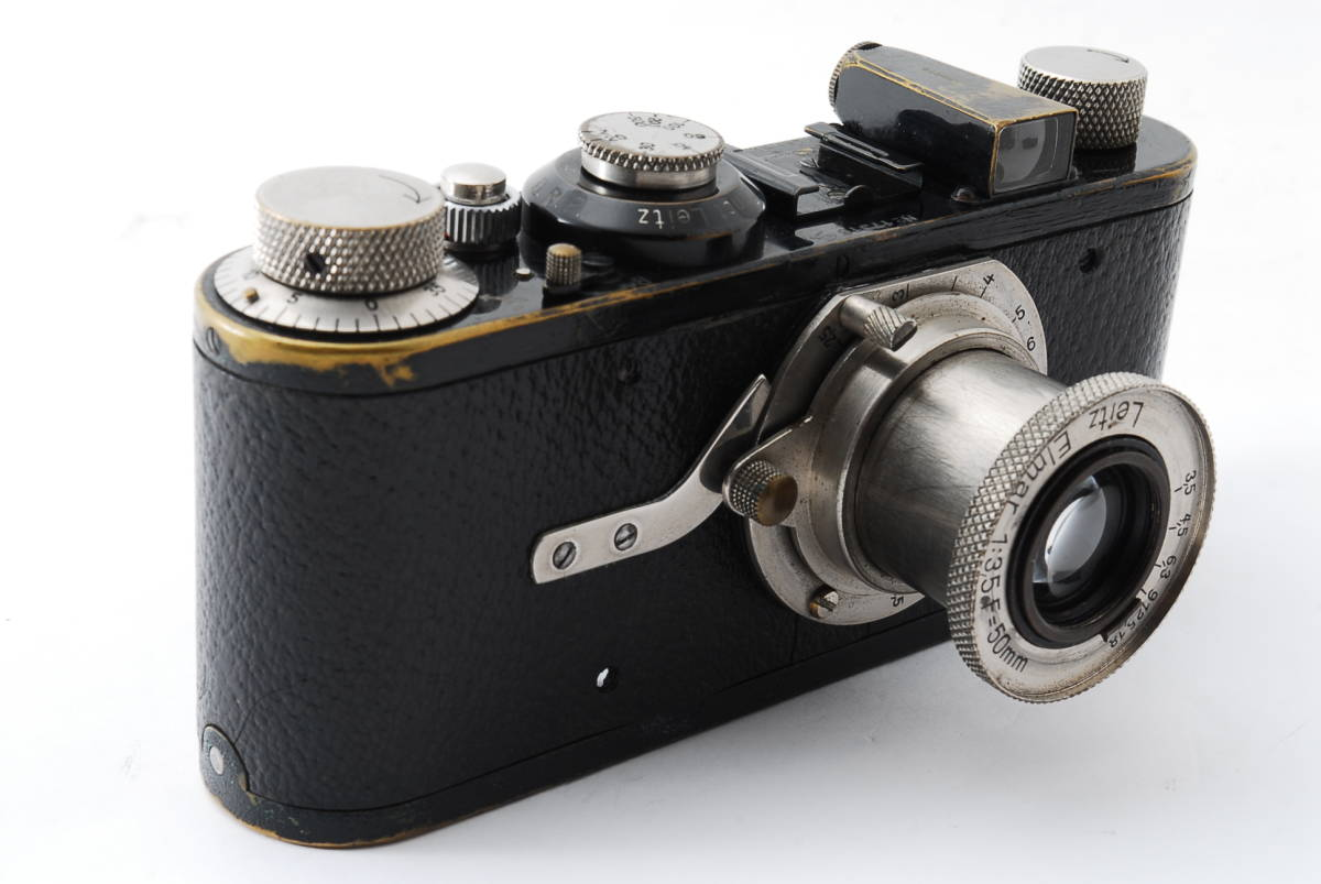 ☆極上☆ LEICA A型 I型 Elmar 50mm F3.5 バルナック ライカ エルマー 17000番台 後期型 #697_画像2