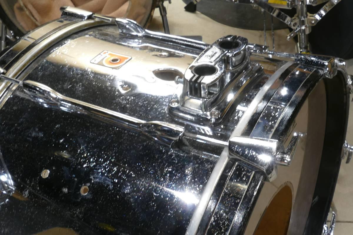 PREMIER シングルヘッド ドラムキット + LUDWIGスネア_画像2