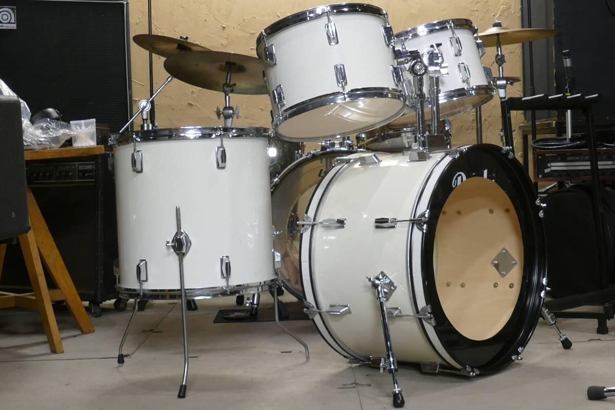 Pearlドラムキット + WFL(LUDWIG)30~50年代スネア