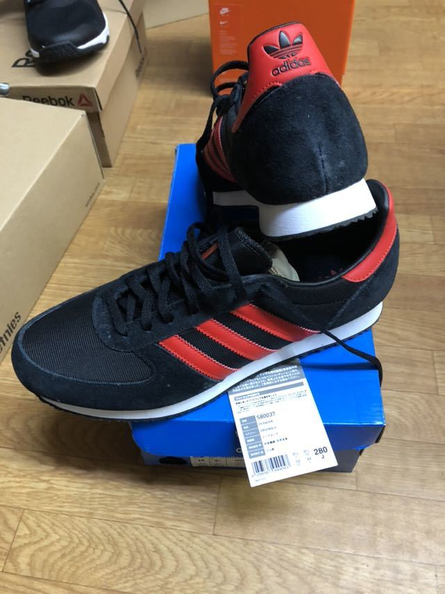 new product b7f14 ee81f Adidas trying on only ZX RACER 28cm Adidas original 80 ...