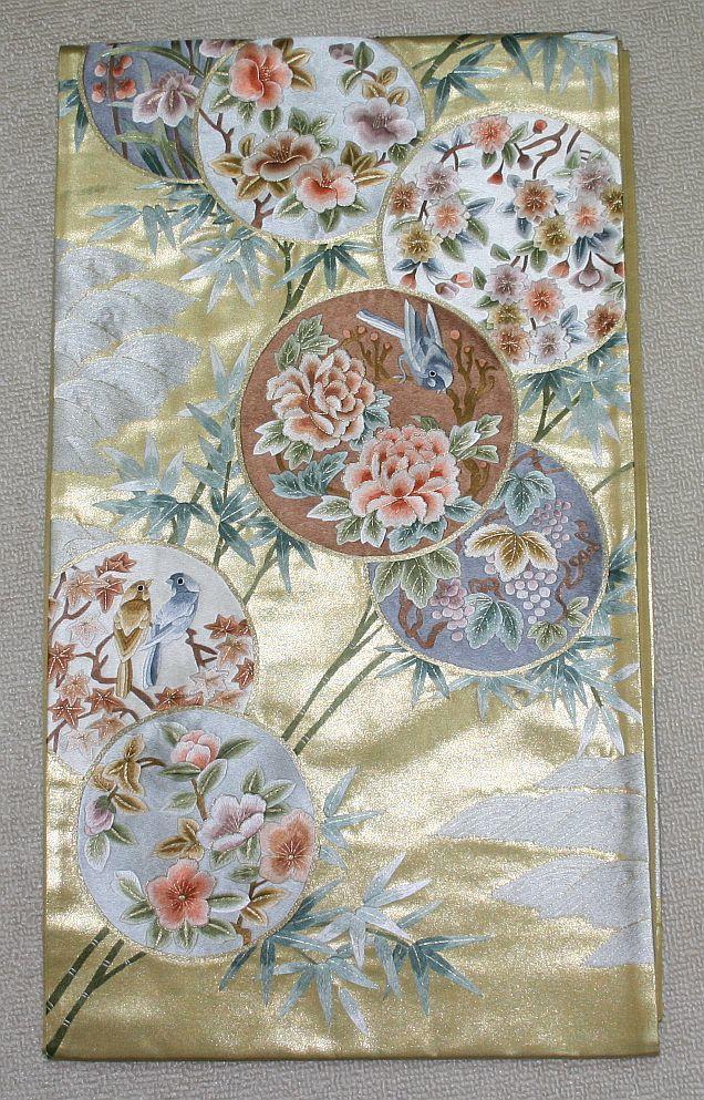 ◆弊社工房オリジナル袋帯◆手刺繍◆訪問着、留袖、色留、色無地用◆_画像2