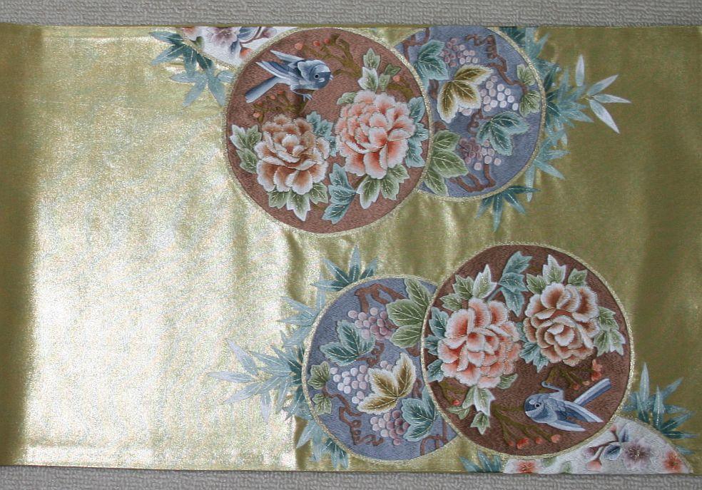◆弊社工房オリジナル袋帯◆手刺繍◆訪問着、留袖、色留、色無地用◆_画像4