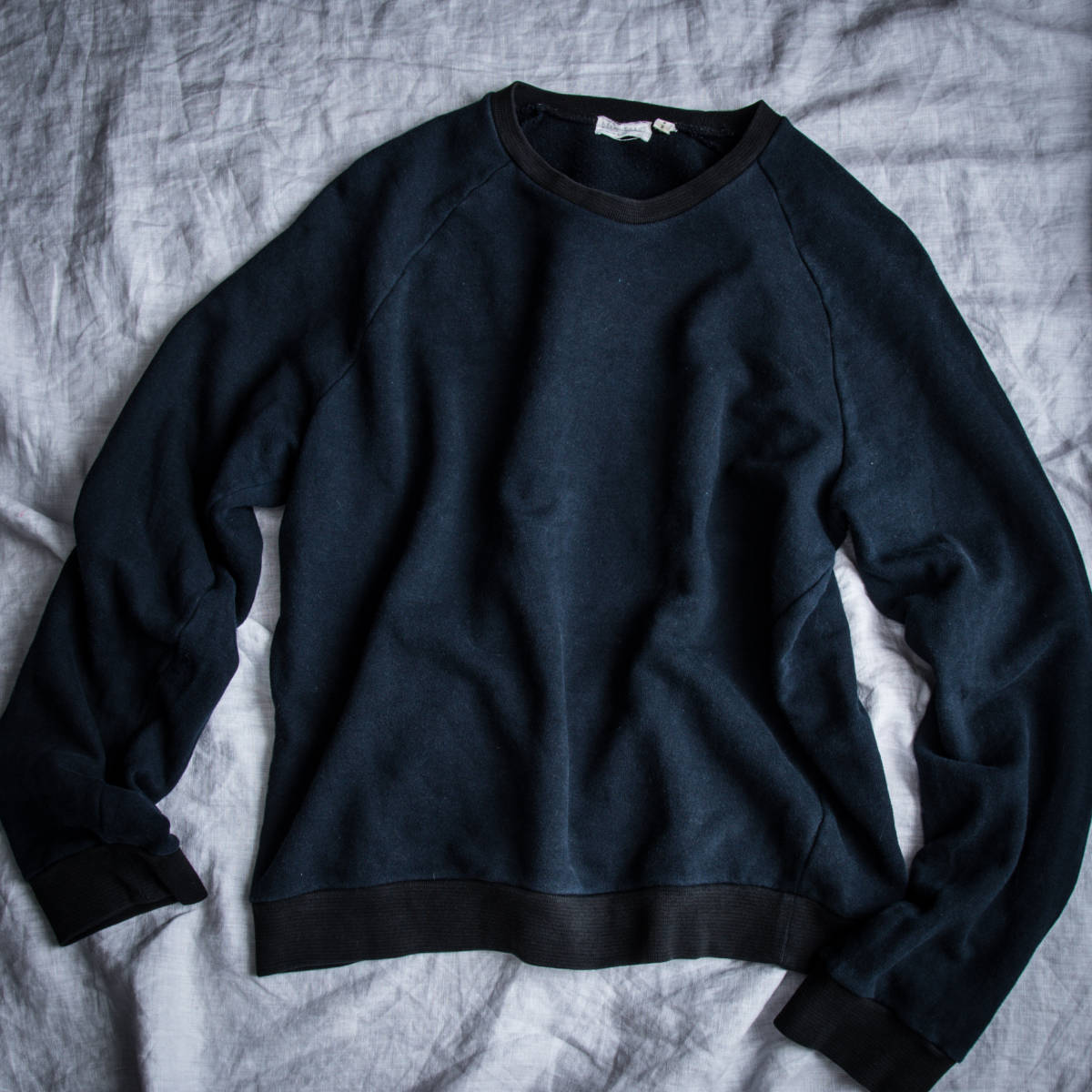1990's HELMUT LANG 2-Tone Sweat Shirt 1998 Made in Italy / ビンテージ オールド ヘルムートラング スウェット シャツ イタリア製 古着