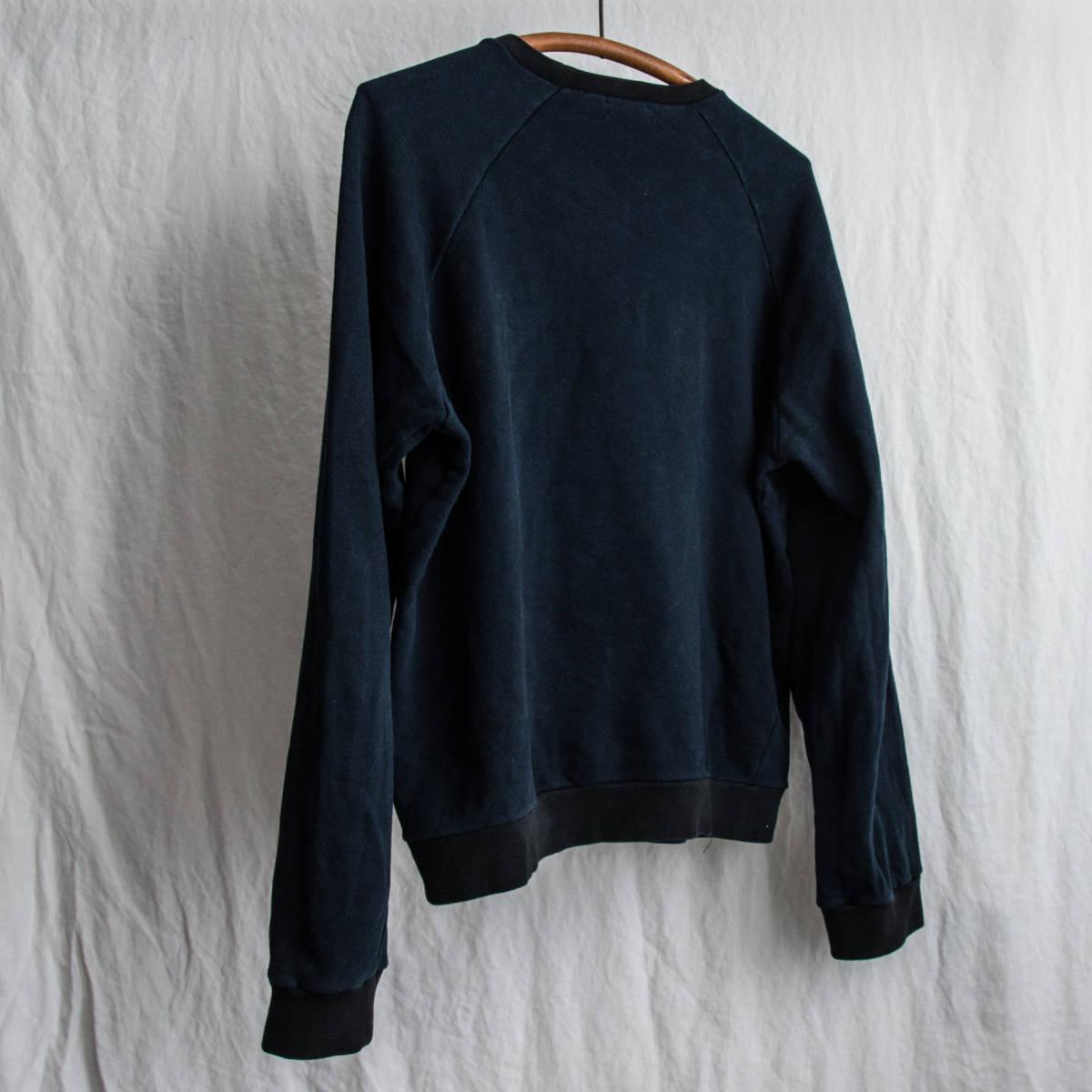1990's HELMUT LANG 2-Tone Sweat Shirt 1998 Made in Italy / ビンテージ オールド ヘルムートラング スウェット シャツ イタリア製 古着_画像3