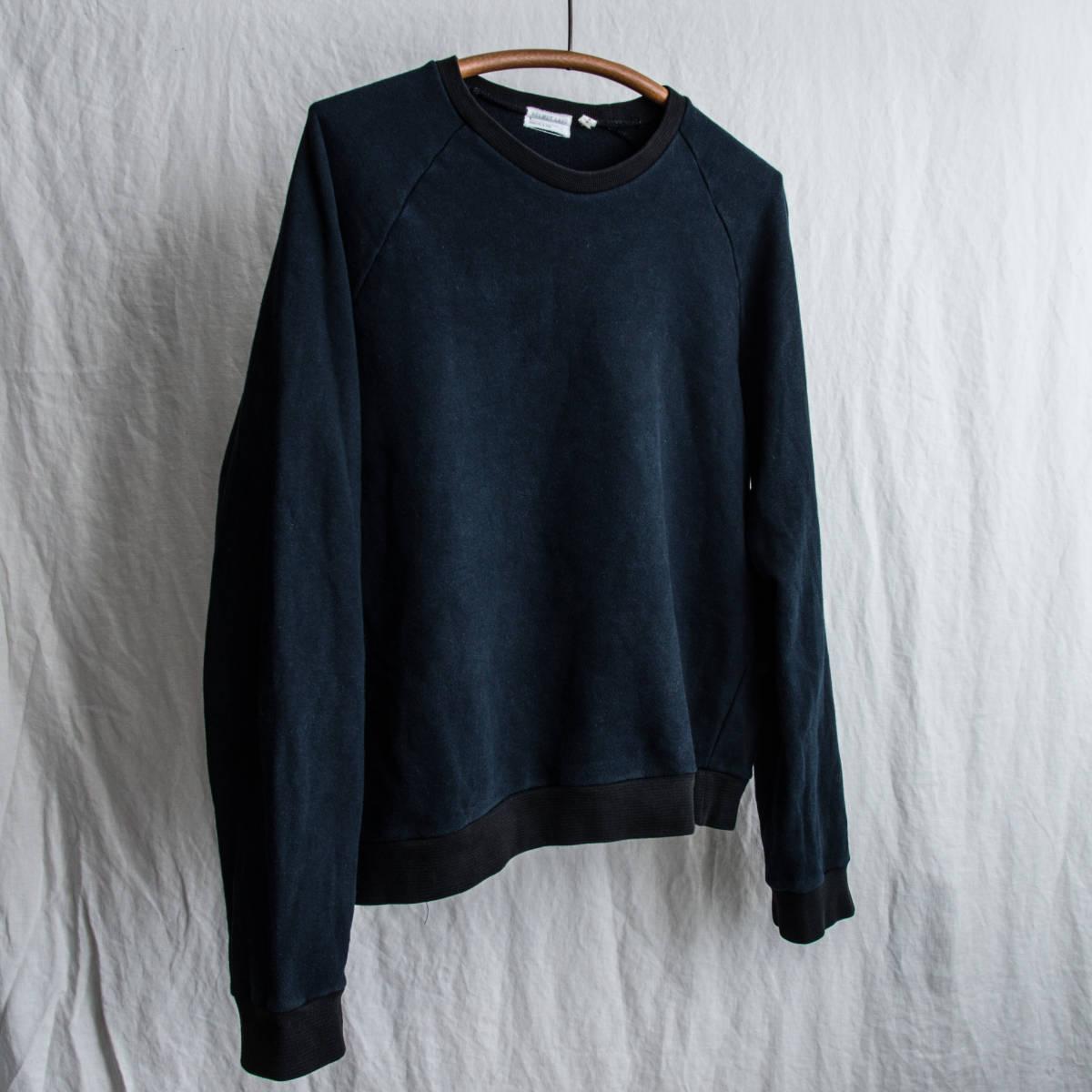 1990's HELMUT LANG 2-Tone Sweat Shirt 1998 Made in Italy / ビンテージ オールド ヘルムートラング スウェット シャツ イタリア製 古着_画像2