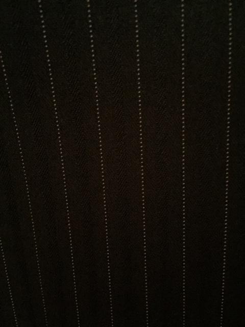 7933 パンツスカート3点セット 七分袖スーツ 11号 オフィス ビジネススーツ セレモニー アウトレット商品 新品(BK/S)_画像9