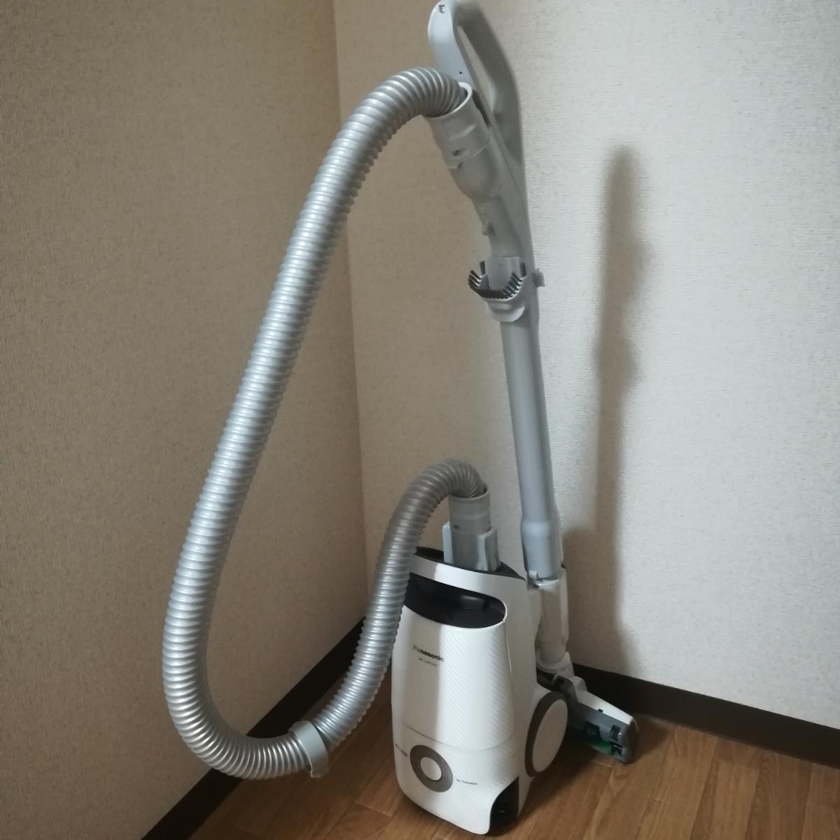 MC-SJP520G パナソニック 掃除機 新品紙パック付 送料無料 美品