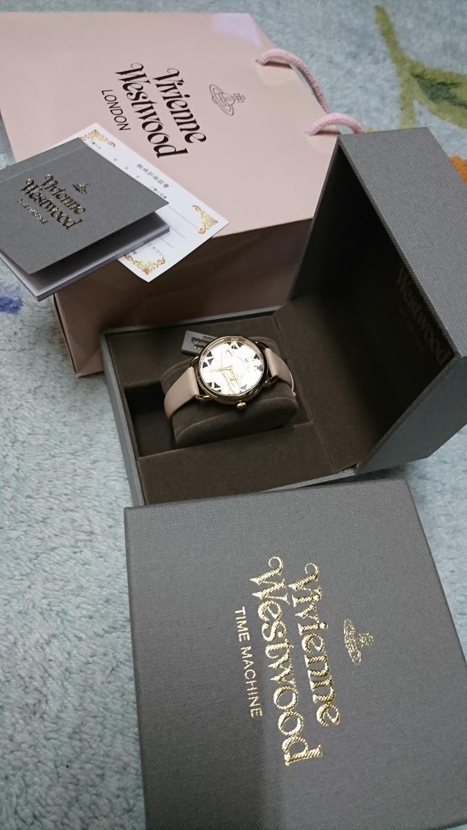 ヴィヴィアン・ウエストウッド 未使用レディース腕時計_画像3
