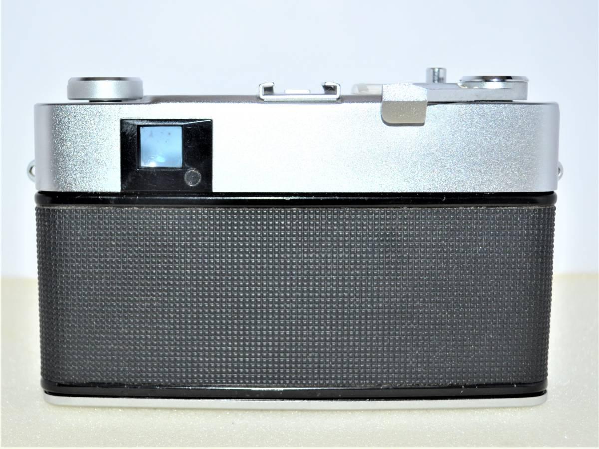 ★希少完動美品★ Konica コニカ AUTO S2 EL ( HEXANON 45mm F1.8 ) レンジファインダー K306_画像4