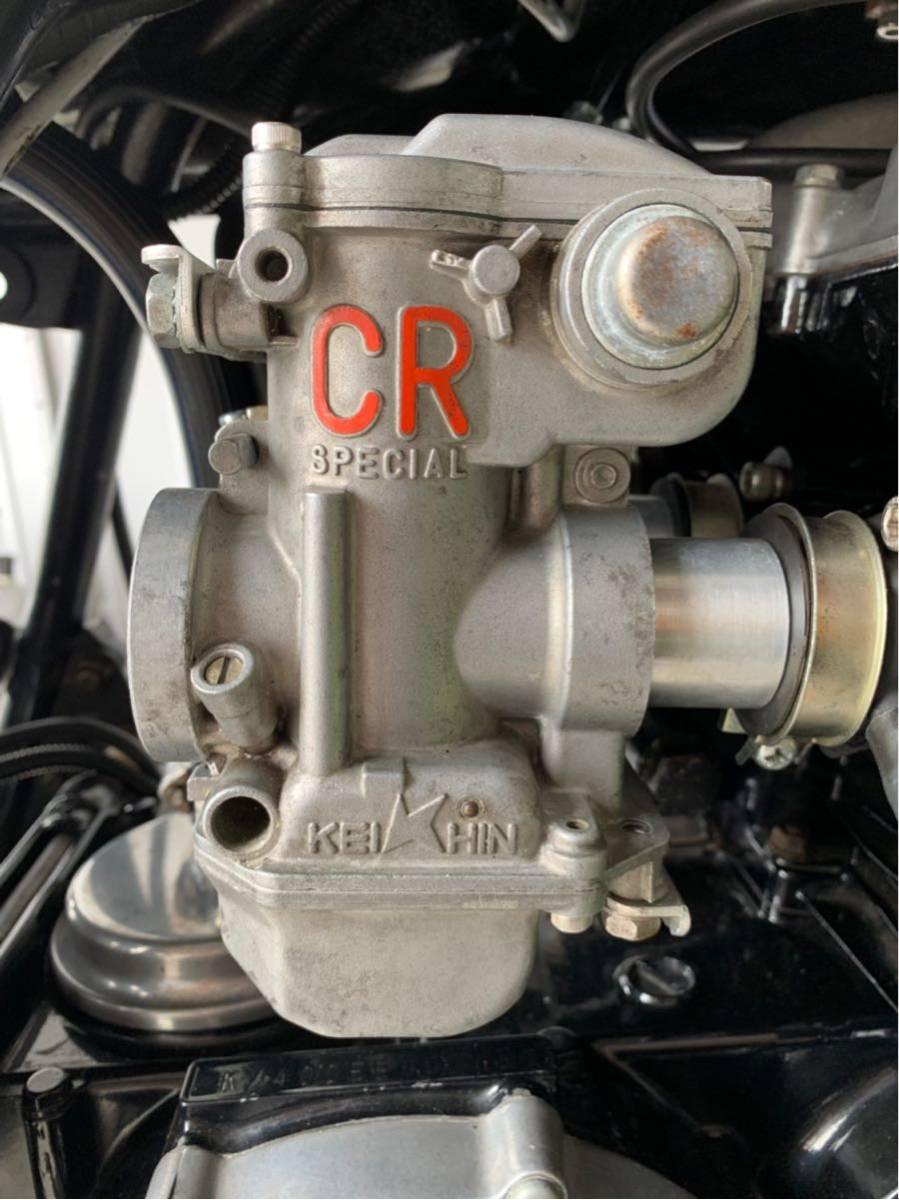 CRキャブレター Z400FX ケイヒン 京浜 CR キャブ 26パイ 1円スタート美品 GPZ ゼファー