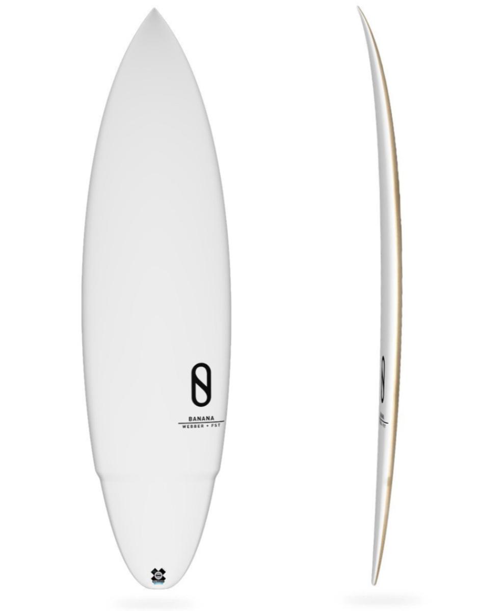 [新品・未使用 ]FireWire ケリースレーター Slater Designs(スレーターデザインズ)BANANA(バナナ)5.11ショートボード_画像2
