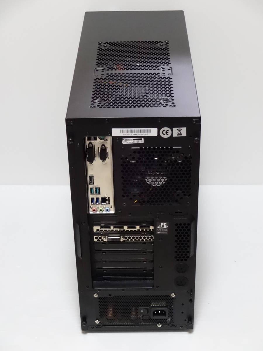 ドスパラ i7-8700/8G/1TB+500GB/DVD-S/GTX1060/Win10_画像2