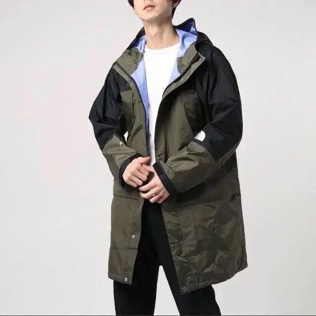 新品 ノースフェイス Mountain Raintex Coat NP11940 マウンテンレインテックスコート ジャケット ニュートープ sacai HYKE GORE-TEX_画像2