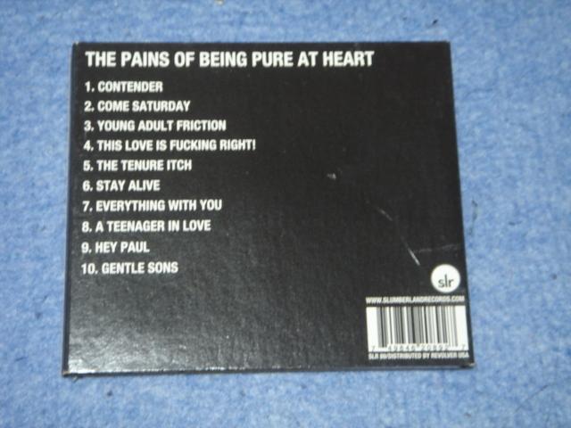 極美CD初回見開き特殊ジャケ★The Pains Of Being Pure At Heart『The Pains Of Being Pure At Heart』シューゲイザー轟音ギター_画像4