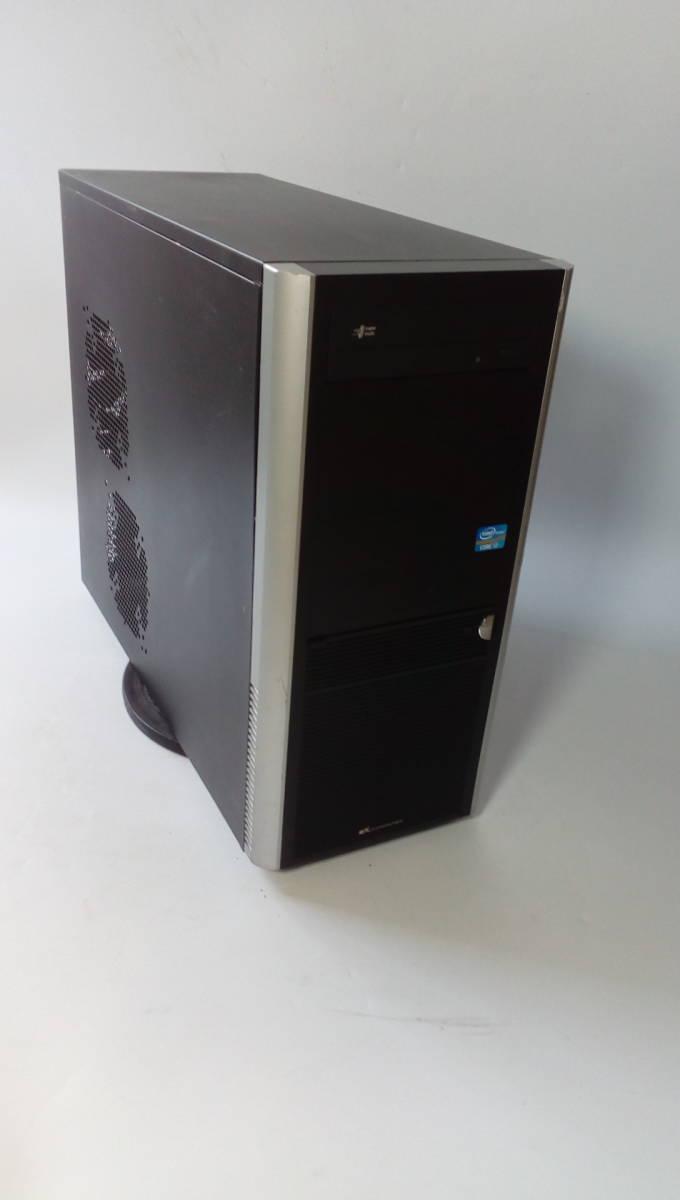 自作PC ■core i7-860■新品SSD120GB■メモリ-4G■ GTX-250 ■windows10 home Prem  office2013
