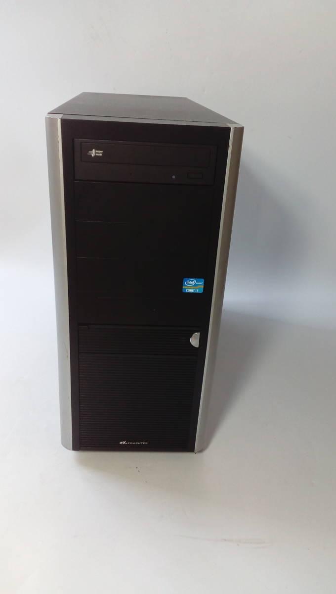 自作PC ■core i7-860■新品SSD120GB■メモリ-4G■ GTX-250 ■windows10 home Prem  office2013_画像2