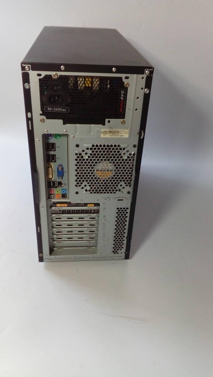 自作PC ■core i7-860■新品SSD120GB■メモリ-4G■ GTX-250 ■windows10 home Prem  office2013_画像5