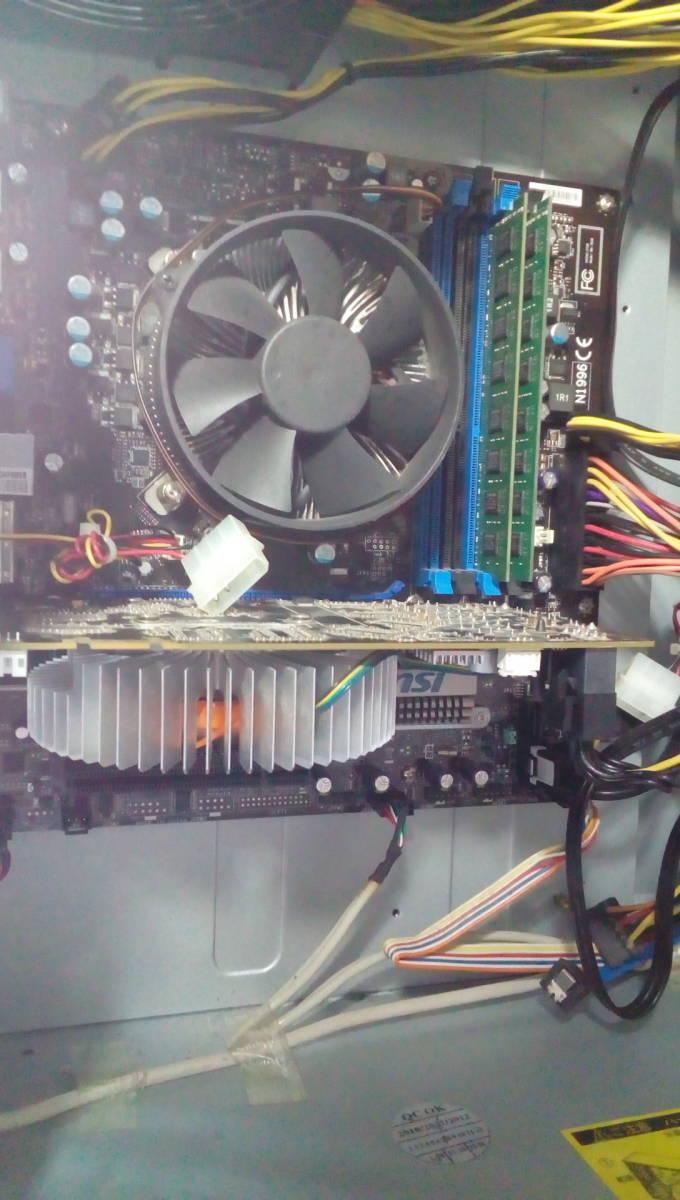 自作PC ■core i7-860■新品SSD120GB■メモリ-4G■ GTX-250 ■windows10 home Prem  office2013_画像8