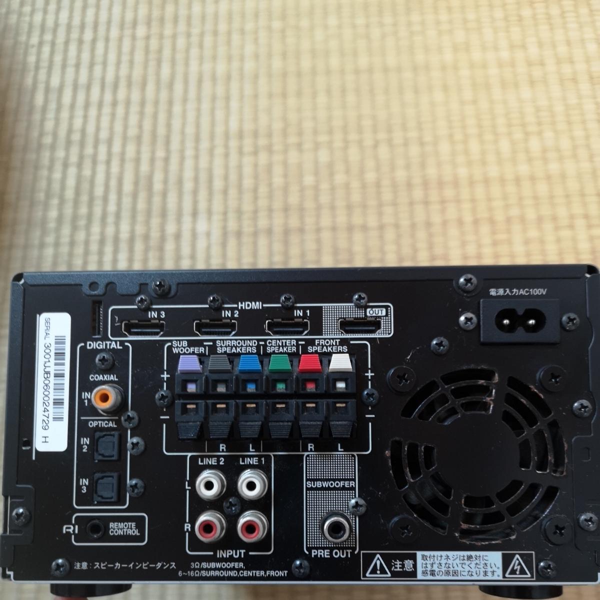 ONKYO オンキョー AVアンプ SA-205HDX_画像2